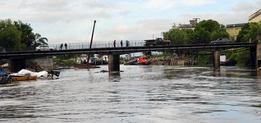 Encontraron un cuerpo en las aguas del arroyo Saladillo.