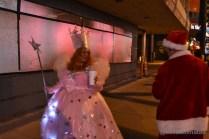 Santa going for it