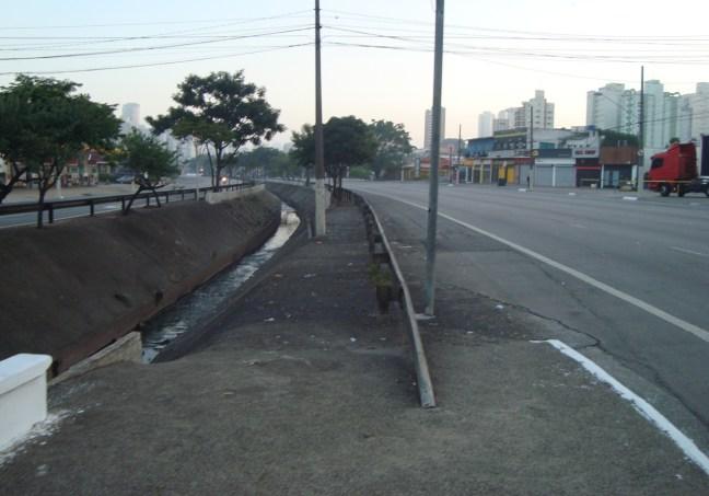 Avenida Ricardo Jafet, ponto de largada