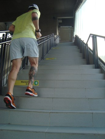 Havia escada rolante mas desbravador de verdade encara todos os desafios