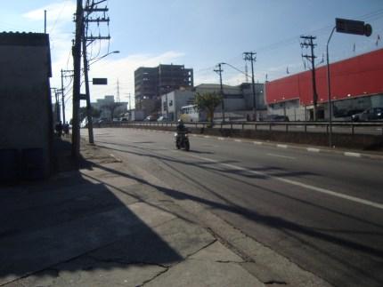 km 24 - uma das muitas subidas da Av. São Miguel