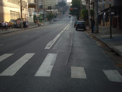 Km 9 - Subida da Brigadeiro sentido Ibirapuera x Centro
