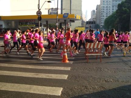km 12,5 - Onda rosa na Maria Paula
