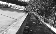 Km1 - Calçada do viaduto sobre o Tamanduateí