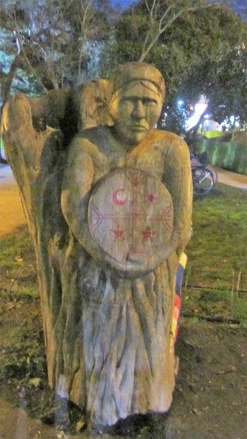 Monumento a la Mujer Mapuche