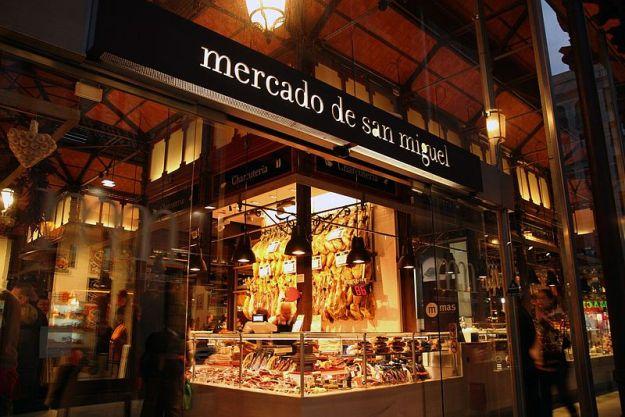 mercado, san miguel, mercados gourmet, madrid