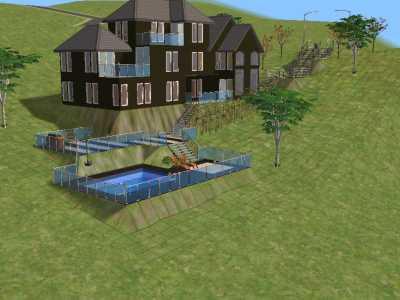 Casa Para Sims De Clase Media Alta Descargas Capital Sims