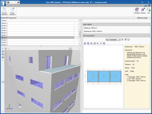 Open BIM Carpentry. Vistas 3D de ventanas