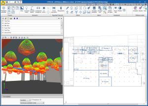 CYPELUX. Visualización de las curvas fotométricas en las vistas 3D y en GLTF