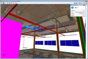 CYPECAD. Información de los elementos estructurales en la vista 3D y en GLTF