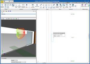 CYPELUX. Rotación 3D de las luminarias
