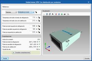 Open BIM DAIKIN. Dimensionamiento automático de las unidades interiores VRV