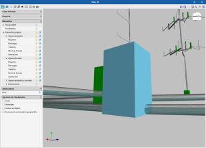 CYPEPLUMBING Sanitary Systems. Visualización del nivel de llenado de las tuberías en la vista 3D