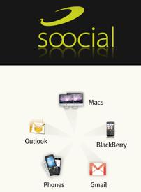 soocial-1 Soocial, synchronise vos contacts Outlook, Mac, GMail et ceux de votre Smartphone