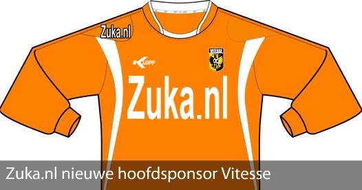 Zuka wordt hoofdsponsor van Vitesse