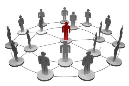 Iedereen heeft een netwerk tot zijn beschikking