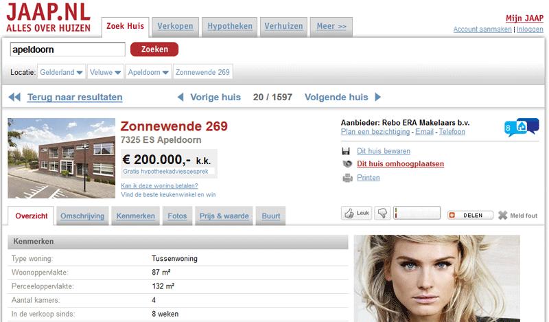 WIDBM integratie op JAAP.nl