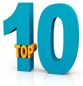 Top 10 op DeScherpePen.nl