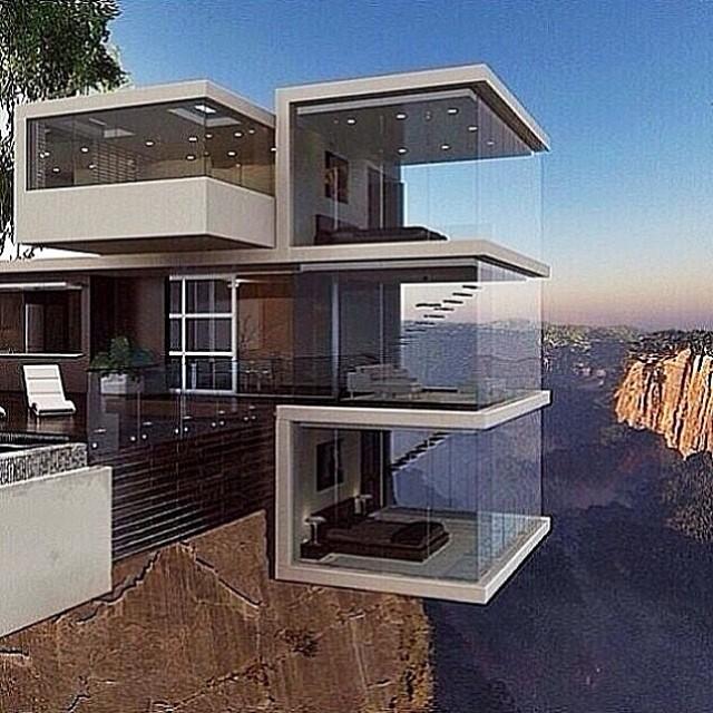 Slaapkamer met uitzicht