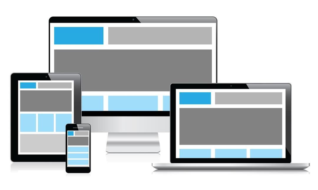 nieuwe website die responsive is voor makelaars