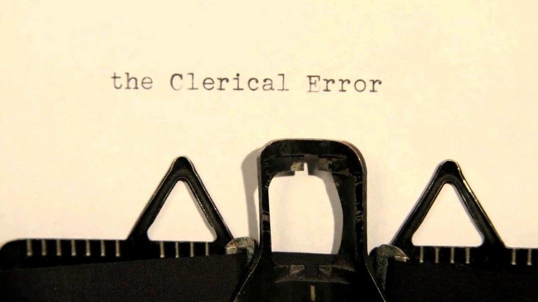 Clerical Error of toch Rectificatie