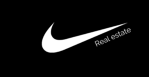 Wat zou er gebeuren als Nike een makelaarskantoor opent