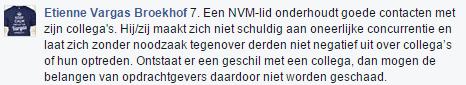 Citaat NVM erecode mbt de Makelaarsland reclame - 2