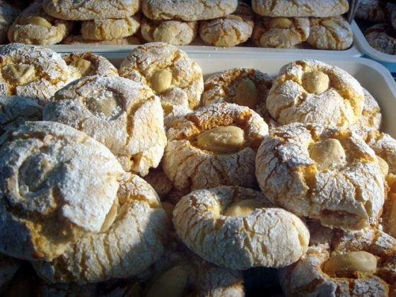 Pasta de amêndoas - biscoitos
