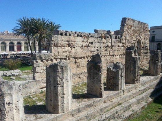 Ruínas do Templo de Apolo - Foto: Acervo Pessoal