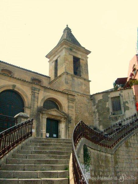 Igreja de Santa Maria delle Scale ou... Santa Maria das Escadas!