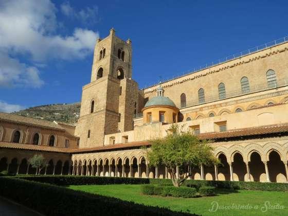 claustro dos beneditinos de monreale
