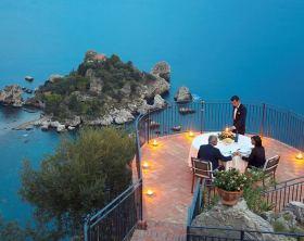 lugares românticos na Sicília