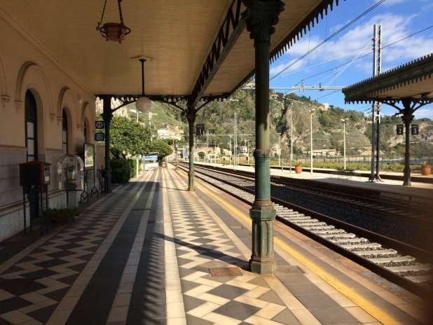 Estação de trem de Taormina