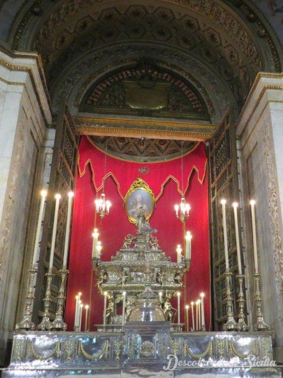 Capela de Santa Rosalia, Catedral de Palermo