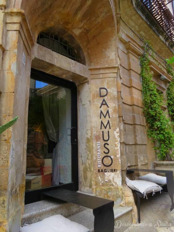 Restaurante em Noto: Dammuso