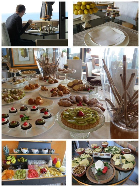 Sala do Restaurante Hotel Villa Carlotta