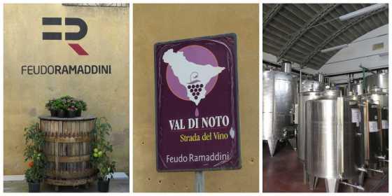 Vinícola Feudo Ramaddini em Marzamemi