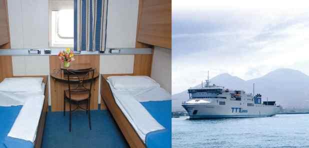 Navio Nápoles-Catânia