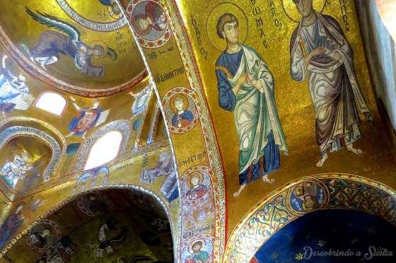 Mosaicos da Igreja da Martorana, Palermo