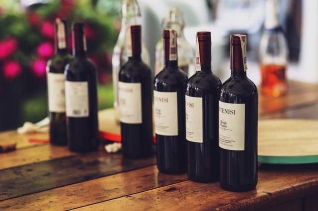 Degustação de vinhos no Etna