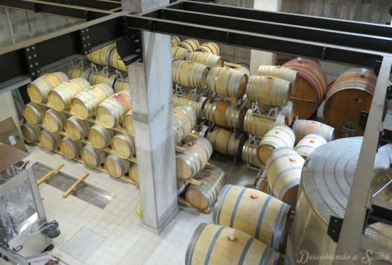 Dica de vinícola no Etna: Gambino