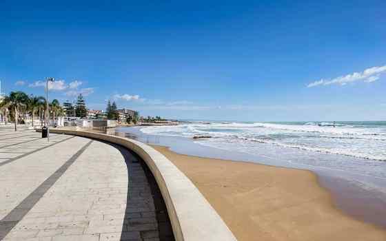 Praias da Sicília adequadas para crianças: Marina di Ragusa