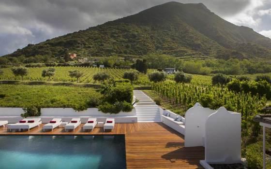 Hotel nas Ilhas Eólias - Capofaro Resort