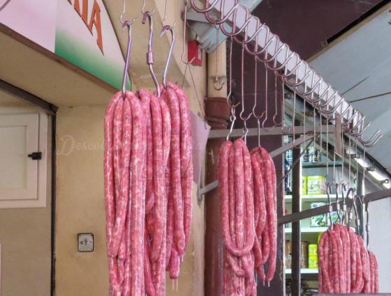 Mercado de Ballarò em Palermo, Sicília