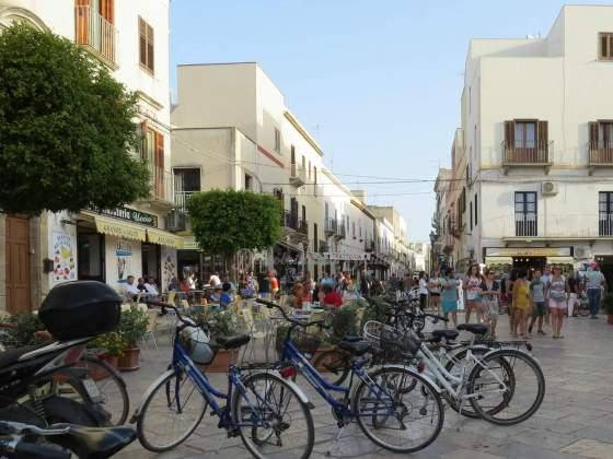 Bicicletas em Favignana