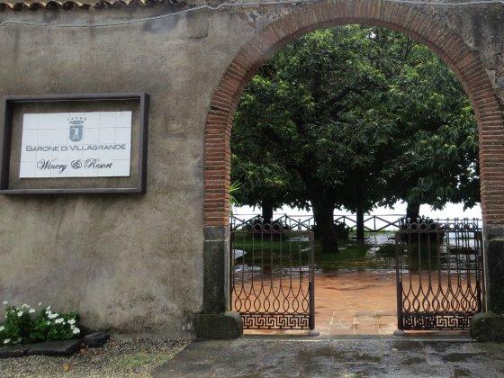 Vinícola Barone di Villagrande, Milo, Sicília