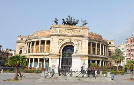 Teatro Politeama em Palermo