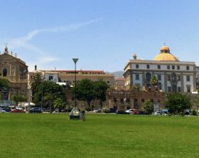 Palermo com crianças