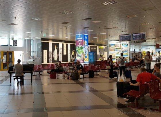 Aeroporto de Palermo.