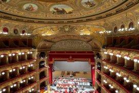 Teatro da ópera em Catania